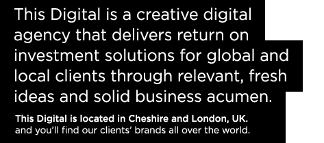 This Digital is a creative digital agency